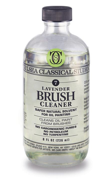 Lavender Brush Cleaner