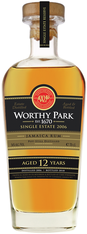 Bouteille de rhum Worthy Park 2006 Single Estate Reserve