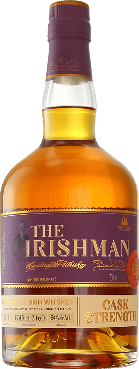 Bouteille de whisky The Irishman Cask Strength 2018