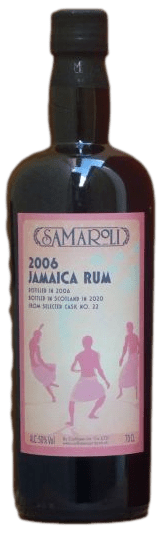 Bouteille de rhum Samaroli 2006 Jamaïca Beach Edition 2020
