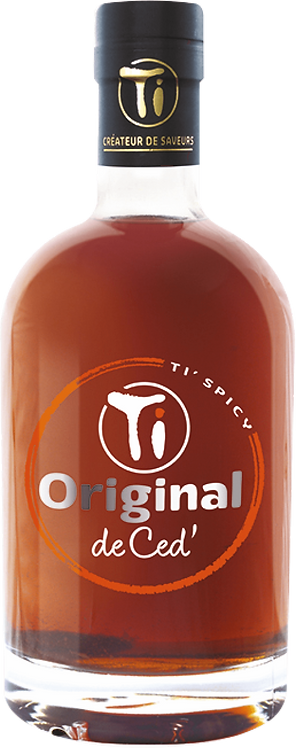 Bouteille de Les Rhums de Ced Original Ti Spicy