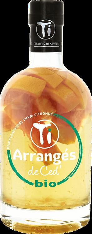 Bouteille de Les Rhums de Ced bio pamplemousse thym citronné