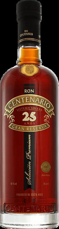 Bouteille de Ron Centenario 25 Ans
