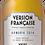 Bouteille de whisky ARMORIK 2014 Version Française