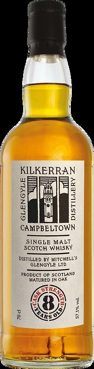 Bouteille de whisky Kilkerran 8 Ans Oloroso Cask Strength