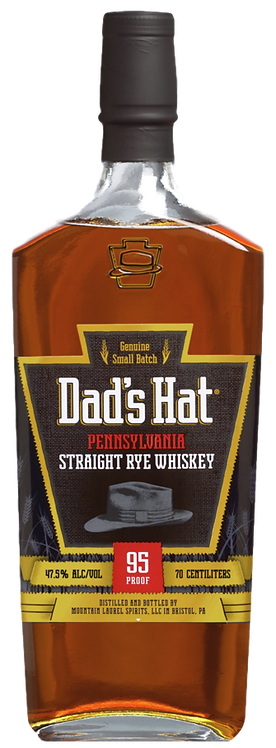 Bouteille de whisky Dad's Hat Straight Rye Whiskey
