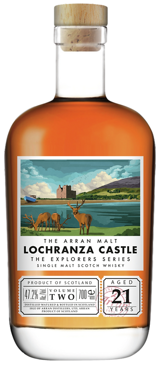 Bouteille de Arran Lochranza Castle 21 Ans