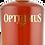 Bouteille de rhum Opthimus 25 ans finition single malt