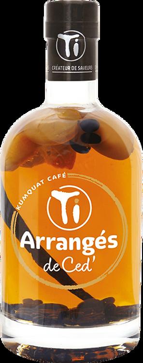 Bouteille de Les Rhums de Ced kumquat café