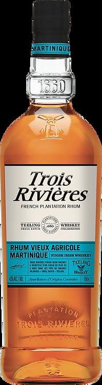 Bouteille de rhum Trois Rivières Teeling Finish