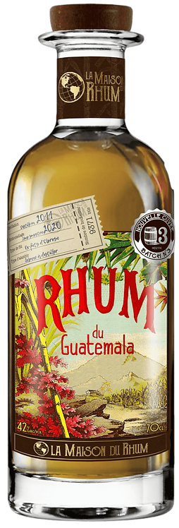 Bouteille de La Maison du Rhum Guatemala Botran