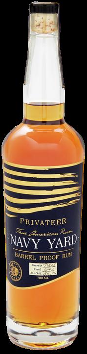 bouteille de rhum Privateer Navy Yard