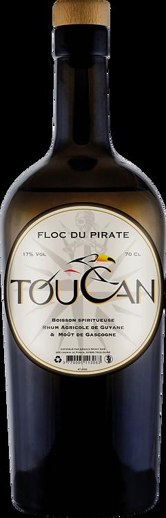 Bouteille de rhum Toucan Floc du Pirate