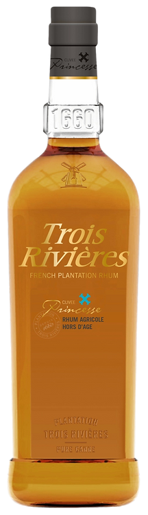 Bouteille de rhum Trois Rivières Cuvée Princesse