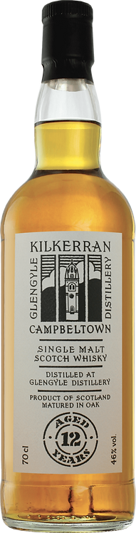 Bouteille de whisky Kilkerran 12 Ans
