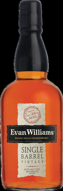 Bouteille de whisky Evan Williams 2010 Single Barrel