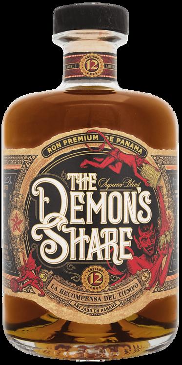 Bouteille de rhum Demon's Share 12 ans