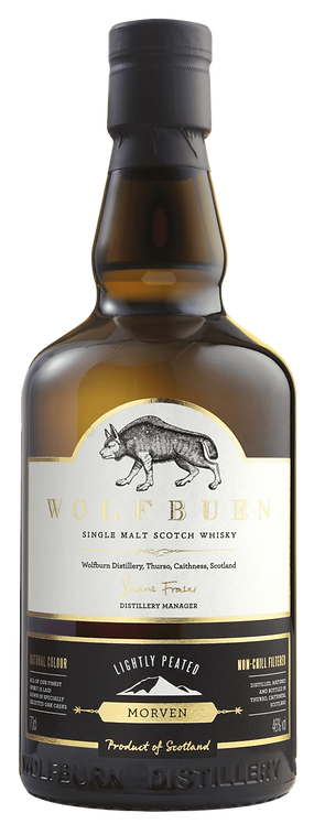 Bouteille de whisky Wolfburn Morven