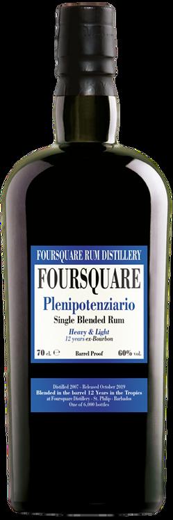 Bouteille de rum Foursquare Plenipotenziario