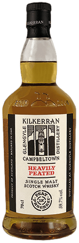 Bouteille de whisky Kilkerran Heavily Peated batch 4