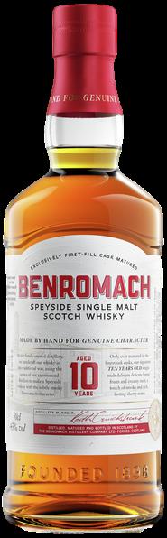 Bouteille de whisky Benromach 10 Ans