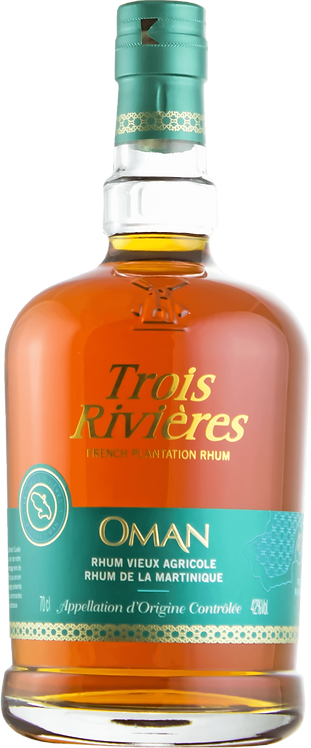 Bouteille de rhum Trois Rivières Cuvée Oman