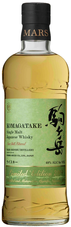 Bouteille de whisky Mars Komagatake Limited Edition 2019