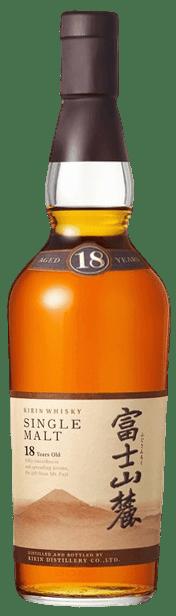 Bouteille de whisky Kirin Fuji Gotemba Distillery 18 Ans