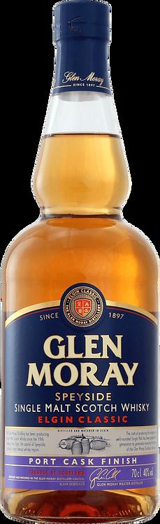 Bouteille de whisky Glen Moray Port Cask Finish