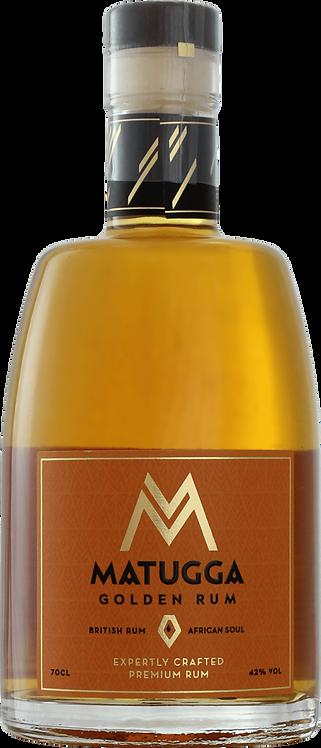 Bouteille de rhum Matugga Golden Rum