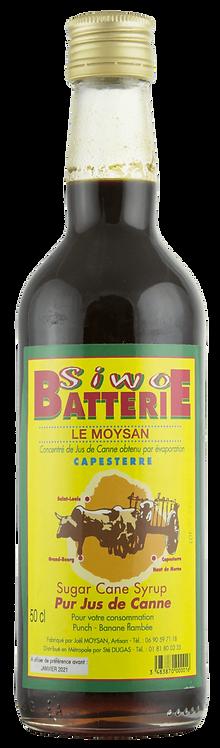 Bouteille de rhum Le Moysan Sirop de batterie