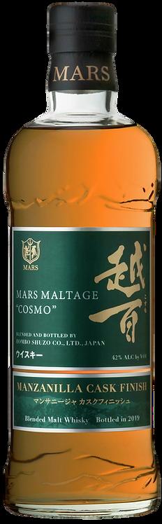 Bouteille de whisky Mars Cosmo Manzanilla finish
