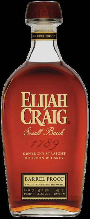 Bouteille de whisky Elijah Craig Small Batch Barrel Proof