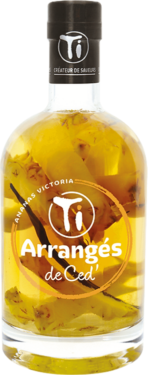 Bouteille de Les Rhums de Ced ananas Victoria