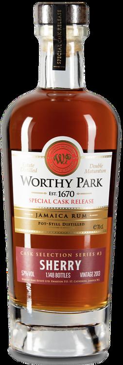Bouteille de rhum Worthy Park PX Sherry Cask Finish