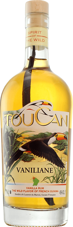 Bouteille de rhum Toucan Vaniliane