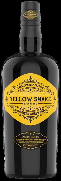 Bouteille de rhum Yellow Snake