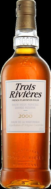 Bouteille de rhum Trois Rivières Millésime 2000