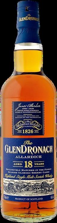 Bouteille de whisky Glendronach 18 Ans Allardice