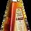 Bouteille de rhum J. Bally 7 Ans bouteille pyramide