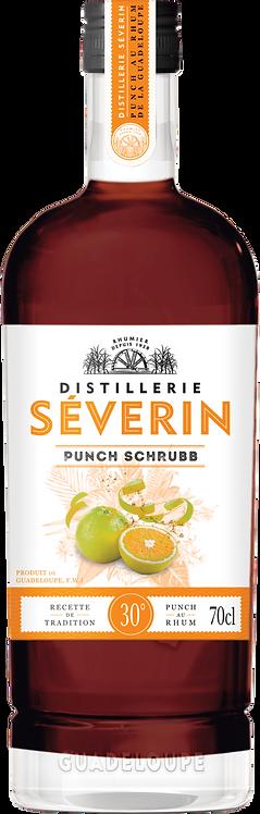 Bouteille de rhum Séverin punch Schrubb