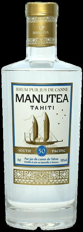 Bouteille de rhum Manutea 50 degrés