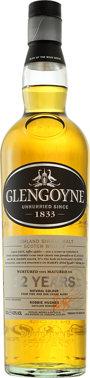 Bouteille de whisky Glengoyne 12 Ans