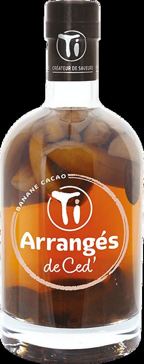 Bouteille de Les Rhums de Ced banane cacao