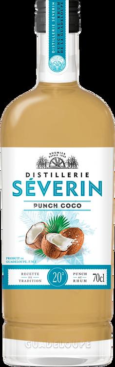 Bouteille de rhum Séverin punch coco