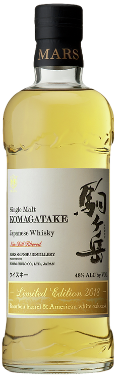 Bouteille de whisky Mars Komagatake Limited Edition 2018