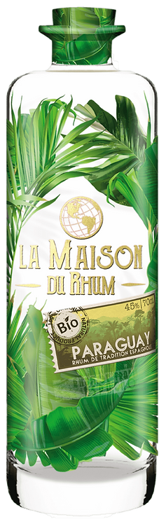 Bouteille de La Maison du Rhum Paraguay Bio