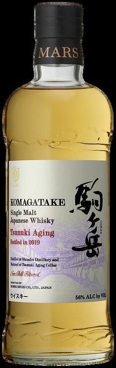 Bouteille de whisky Mars Komagatake Tsunuki Aging 2019
