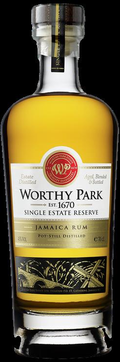 Bouteille de rhum Worthy Park Single Estate Reserve