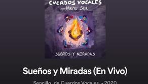 """""""Sueños y Miradas"""", el nuevo single de Cuerdos Vocales en Spotify"""